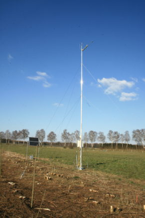 Mariensee, climatological mast on agroforestry plot